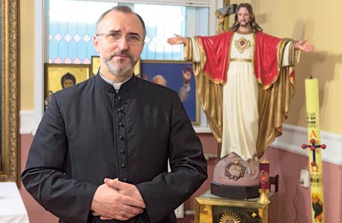 Отец Григорий живет в Кирове уже 15 лет. Священник уверен, что нашел в России свой дом