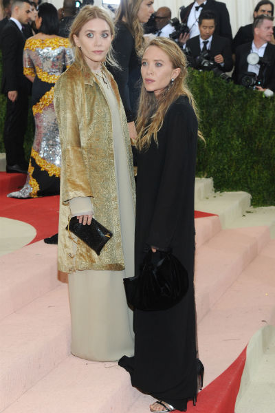 Мэри-Кейт и Эшли Олсен на Met Gala