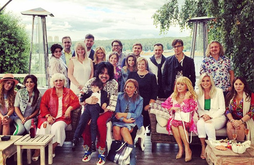 Филипп Киркоров с сыном Мартином и звездными друзьями