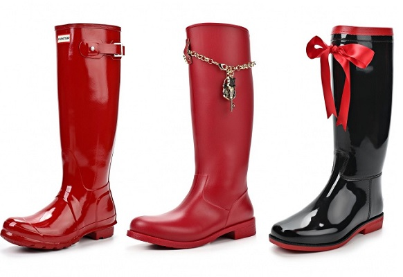 ��������� ������ HUNTER, Love Moschino, BoomBoots