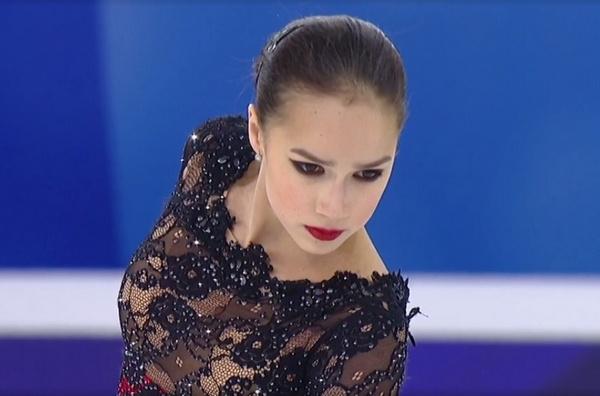 Алина Загитова не смогла показать свое лучшее катание
