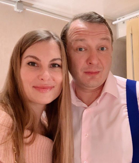 Елизавета и Марат Башаров