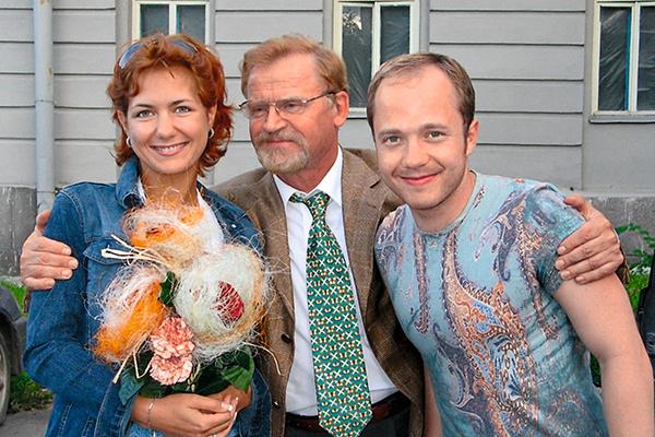 В 2003 году актер снялся в фильме «А поутру они проснулись» вместе с Екатериной Климовой и Сергеем Никоненко