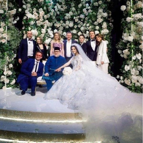 Свадьба монарха с россиянкой
