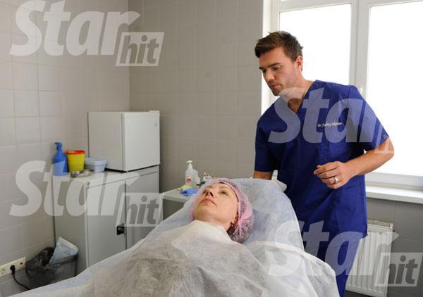 Пациентка в операционной