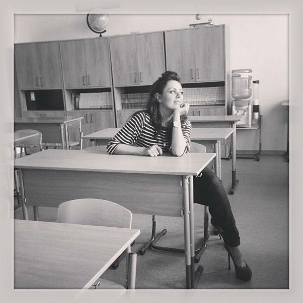 Юлия поностальгировала о школьных годах