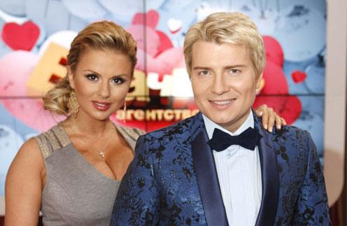 Николай Басков и Анна Семенович