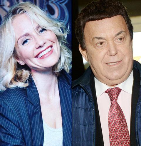 Катя Гордон и Иосиф Кобзон