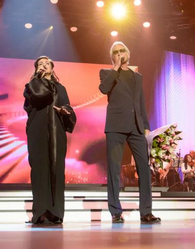 Тамара Гвердцители и Александр Маршалл спели дуэтом