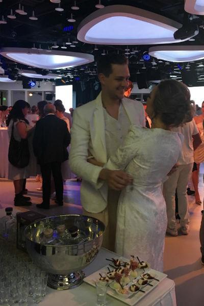Аглая и Милош после расставания очень дружелюбны по отношению друг к другу