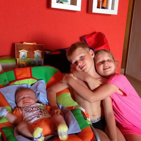 Дети Малафеевых: Алекс, Максим и Ксюша