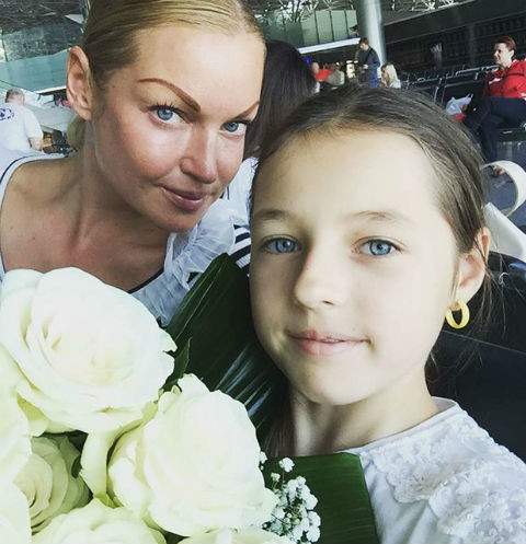 Анастасия Волочкова и Ариша
