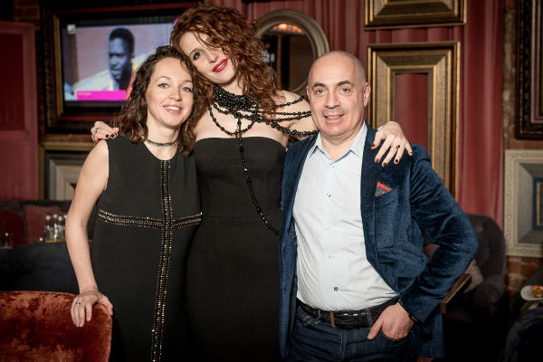 Супруги Грушевские с бизнес-партнером Олесей Ясеновой