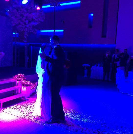 Свадебное фото Елены Исинбаевой и Никиты Петинова
