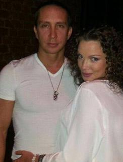 Данко с женой Натальей Устюменко