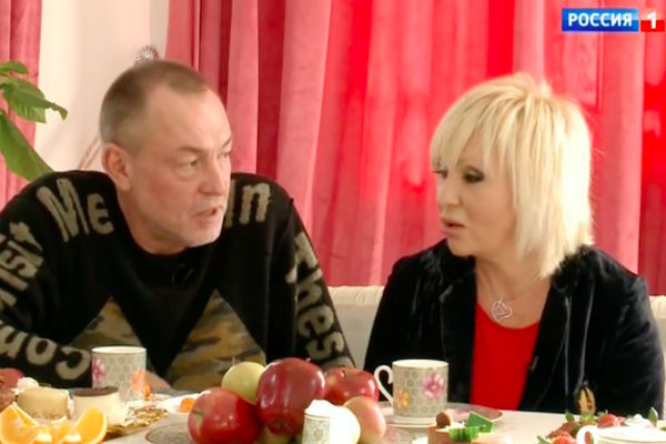 Легкоступова с мужем Алексеем