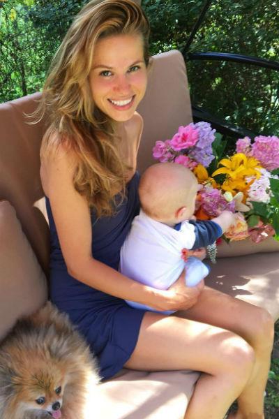 Ольга Казаченко воспитывает сына одна