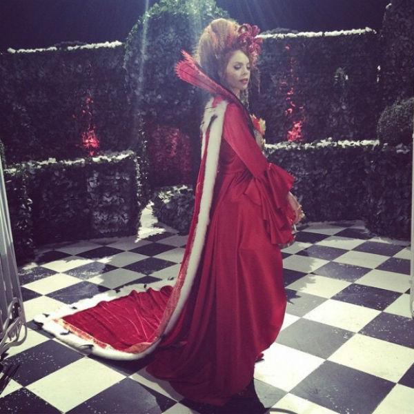 Анастасия Стоцкая в рождественской сказке