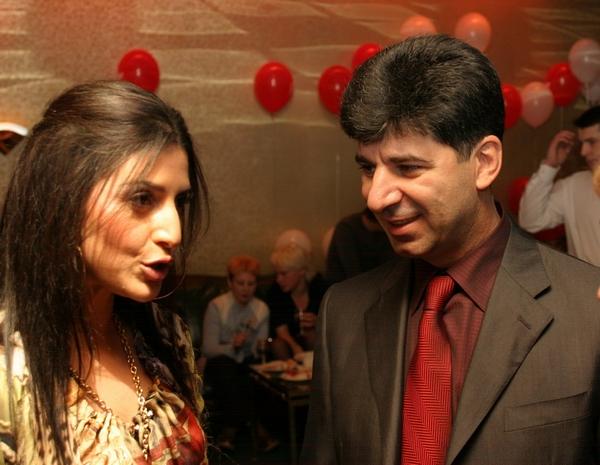 Жасмин и ее первый муж Вячеслав Семендуев