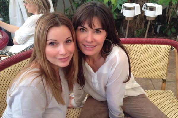 Ольга Орлова и Оксана Робски в США
