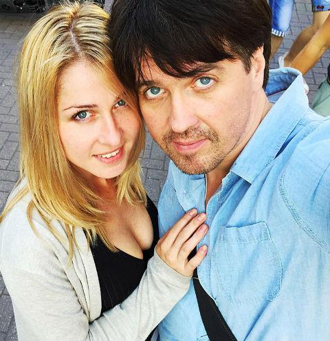 Денис Матросов и его возлюбленная Ольга