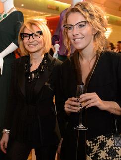 Эвелина Хромченко и Ксения Собчак