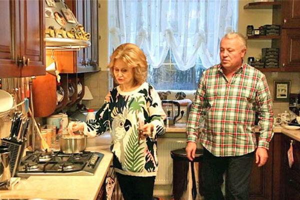 Дарья с мужем Александром