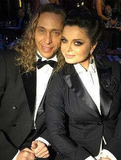 Наташа Королева с мужем Сергеем Глушко