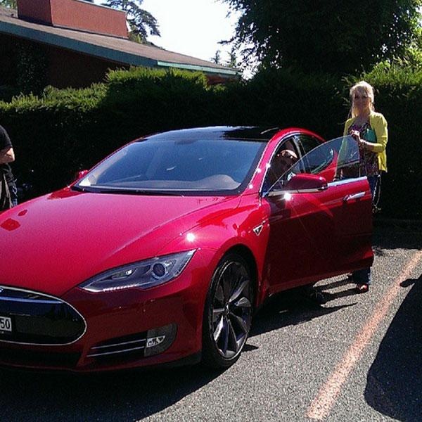 Валерия считает, что за такими автомобилями - будущее