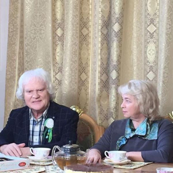 Юрий Куклачев с супругой Еленой