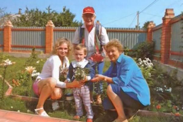 Анна Шатилова находится в прекрасных отношениях с семьей сына