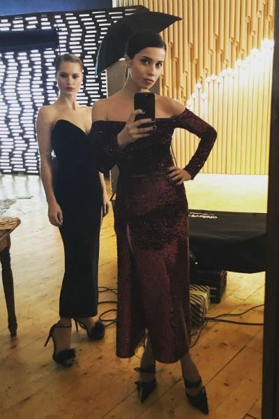 С Анастасией Кузиной