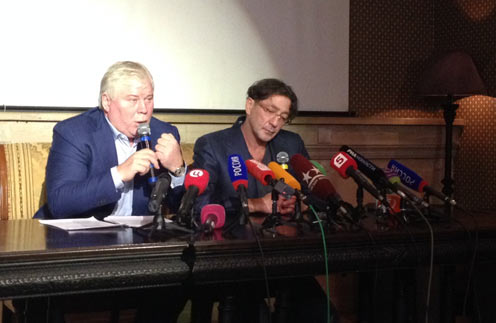 Григорий Лепс и Анатолий Кучерена