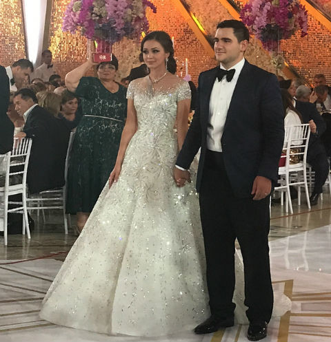 Image result for Свадьба младшего сына миллиардера Самвела Карапетяна