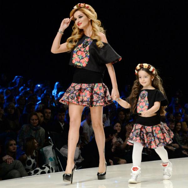 Ксения Бородина с дочерью
