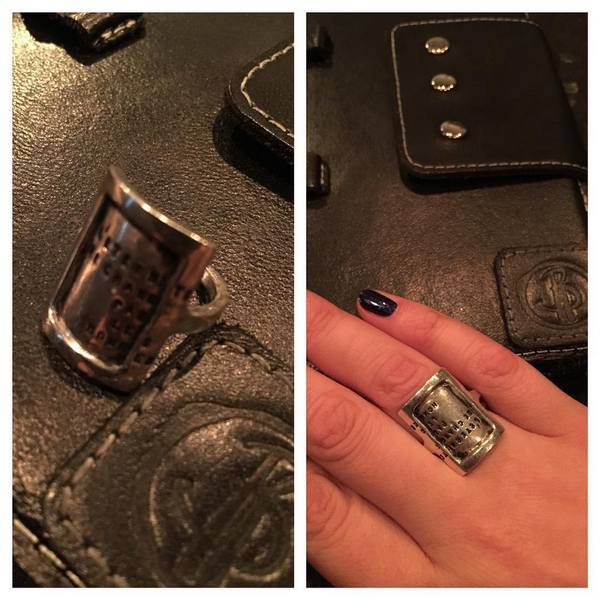 Новое кольцо Виктории Райдос - подарок ее супруга