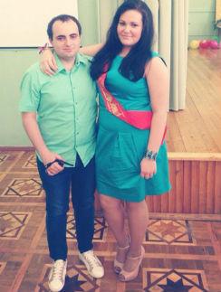 Даная и Дмитрий до недавнего времени были частыми гостями в доме отца