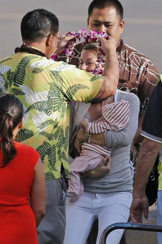 Гостеприимные гавайцы были рады визиты модели