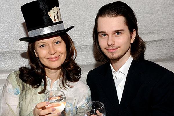 Ирина с сыном Андреем