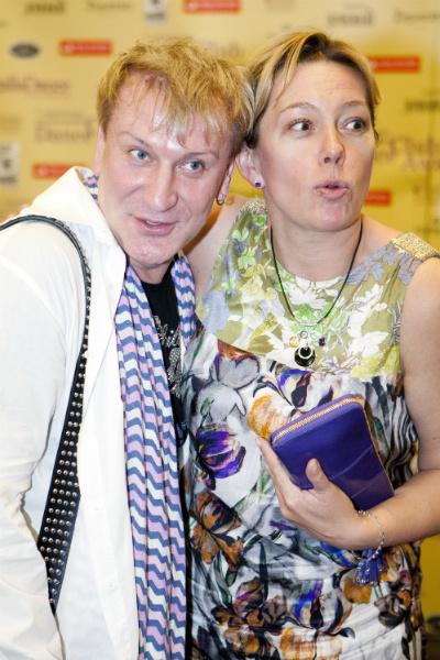 Сергей Пенкин и Арина Шарапова