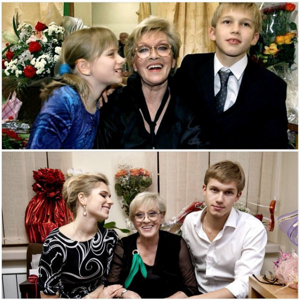 Аня сравнила два снимка - 2004 и 2014 года