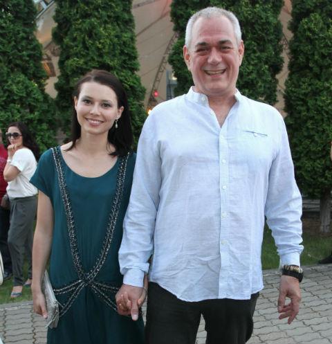 Сергей Доренко и вторая его жена Юлия.