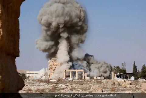 В августе 2015 года боевики взорвали Храм Баалшамина