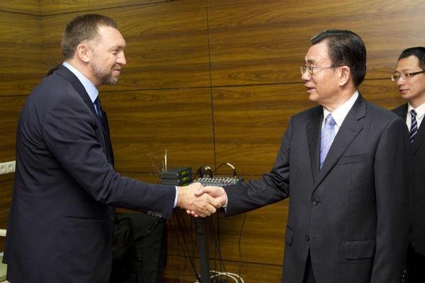 Олег Дерипаска сотрудничает с бизнесменами из разных уголков планеты