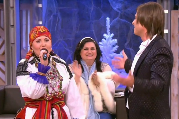 Марина была рада спеть дуэтом с Прохором