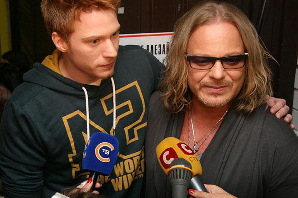 Никита Пресняков с отцом Владимиром Пресняковым, который тоже работал над новым фильмом