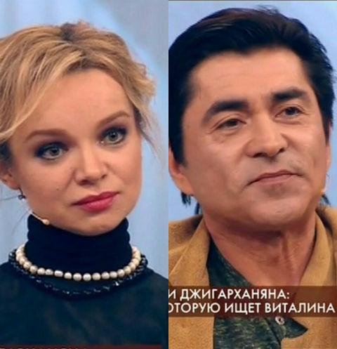 Виталина Цымбалюк-Романовская и Степан Джигарханян