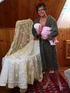 Прохор Шаляпин с сыном