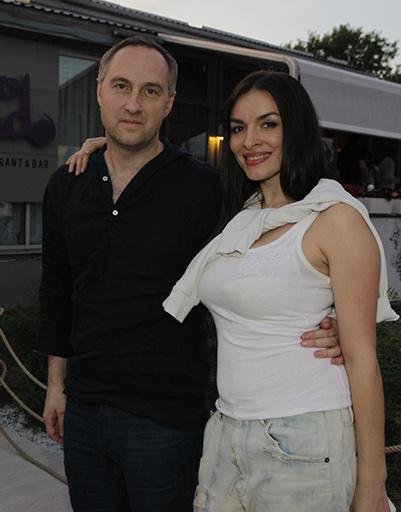 Надежда Мейхер с мужем