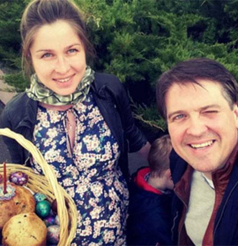 Денис Матросов и его избранница Ольга